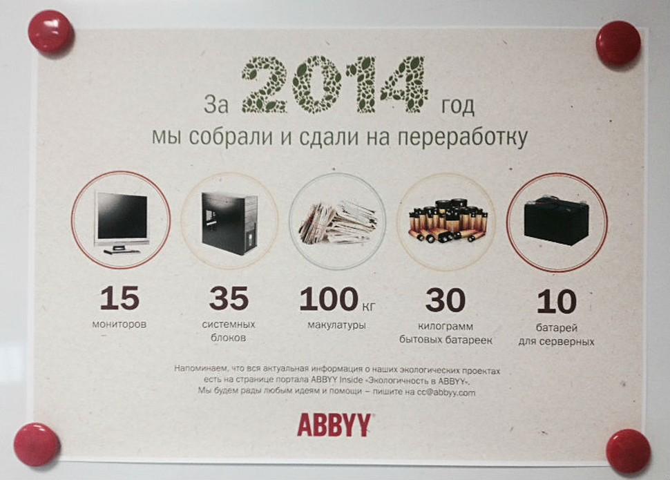 1Y@ABBYY: Часть 1 – Поиск работы и первые впечатления - 14