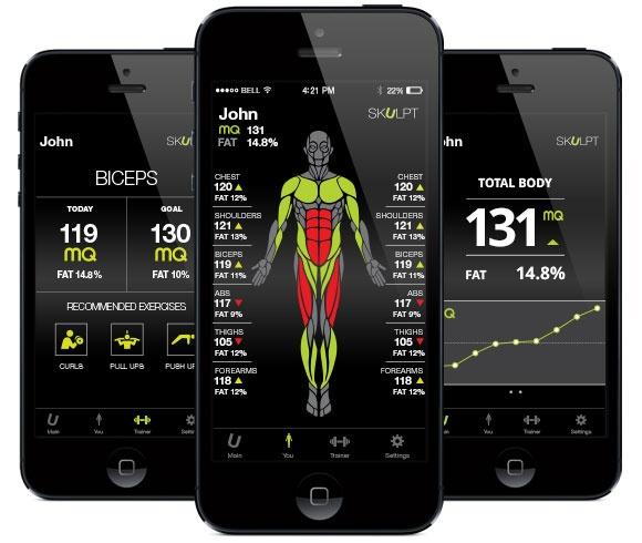 Skulpt Aim поможет следить за состоянием мускулов и прогрессом тренировок: обзор + анбоксинг девайса - 3