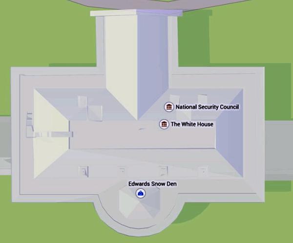 Эдвард Сноуден поселился в Белом доме (на Google Maps) - 1
