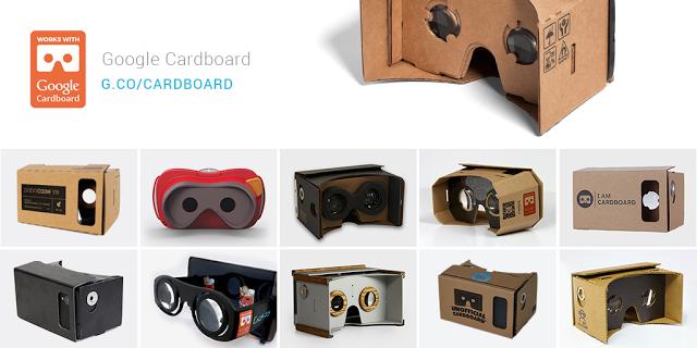 Google посылает специальный QR-код создателям cardboard'ов - 1