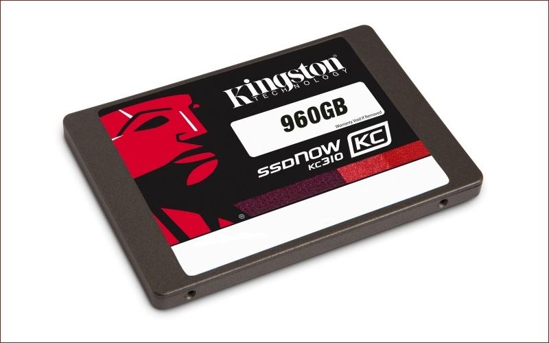 Kingston представляет новый SSD KC310 на контроллере Phison PS3110-S10 емкостью 960 гигабайт - 1