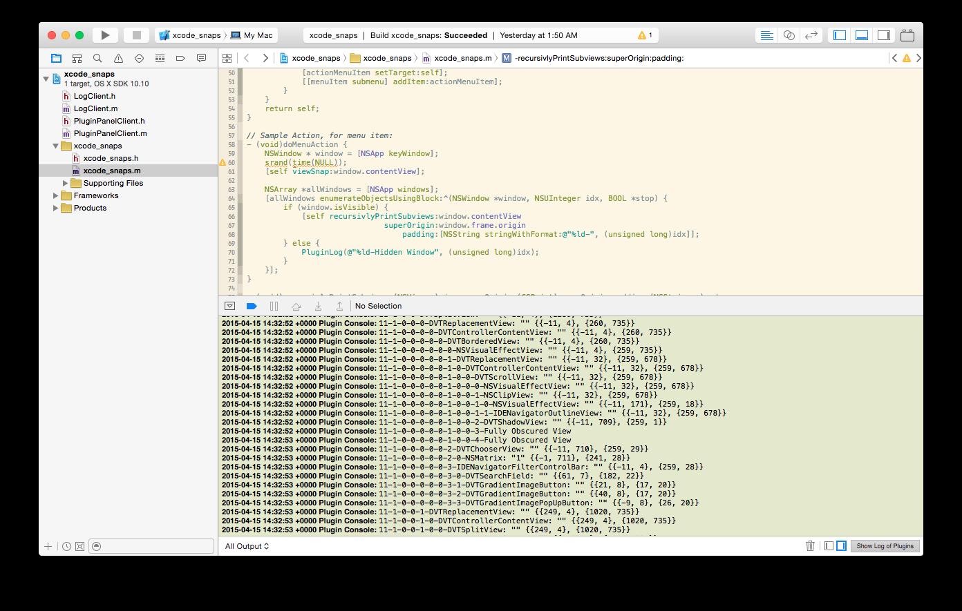 Xcode: плагины для плагинов - 12