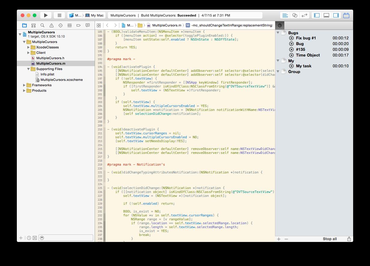 Xcode: плагины для плагинов - 13