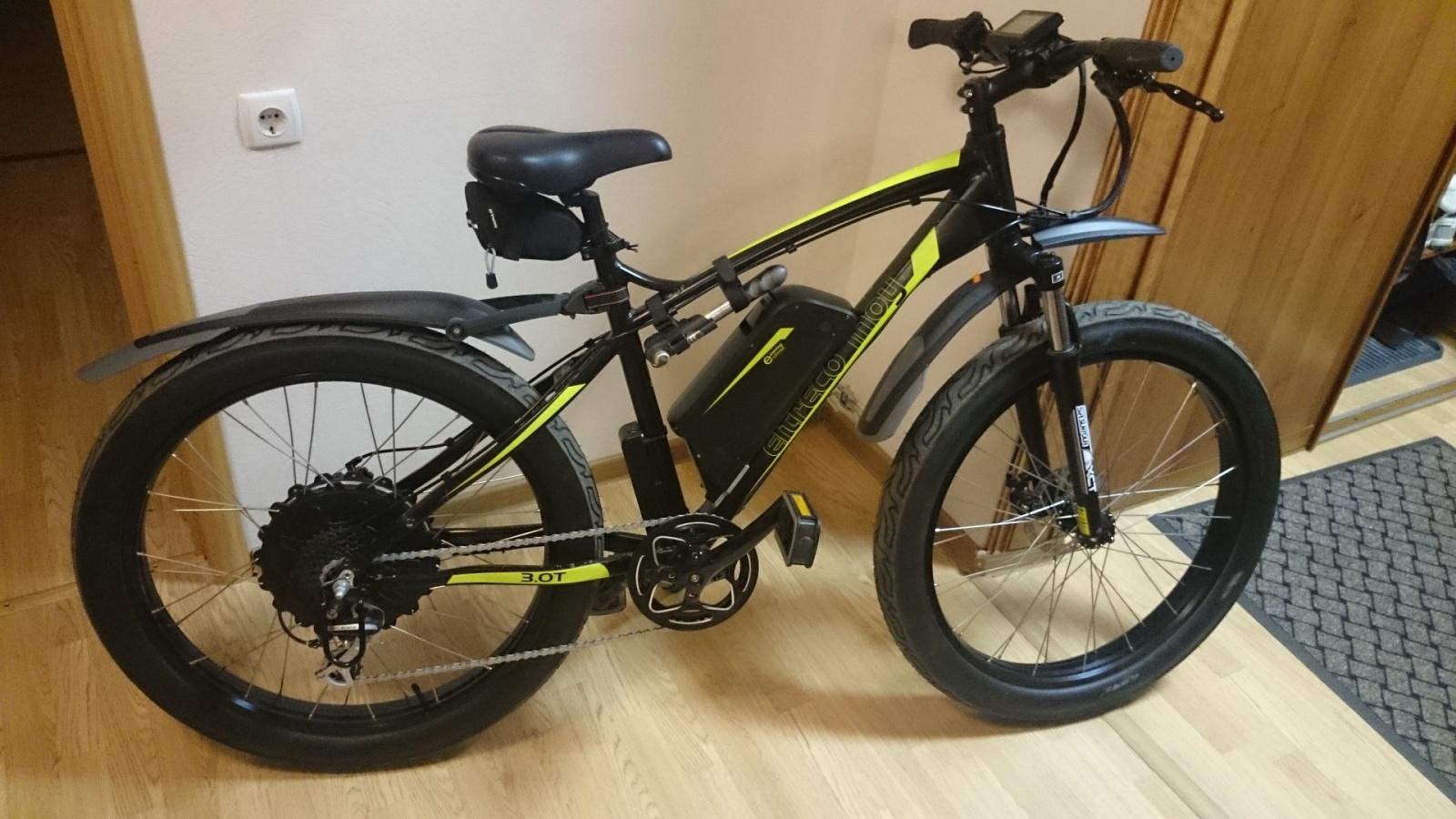 Обзор велогибрида Eltreco Inoy 3.0 - 3