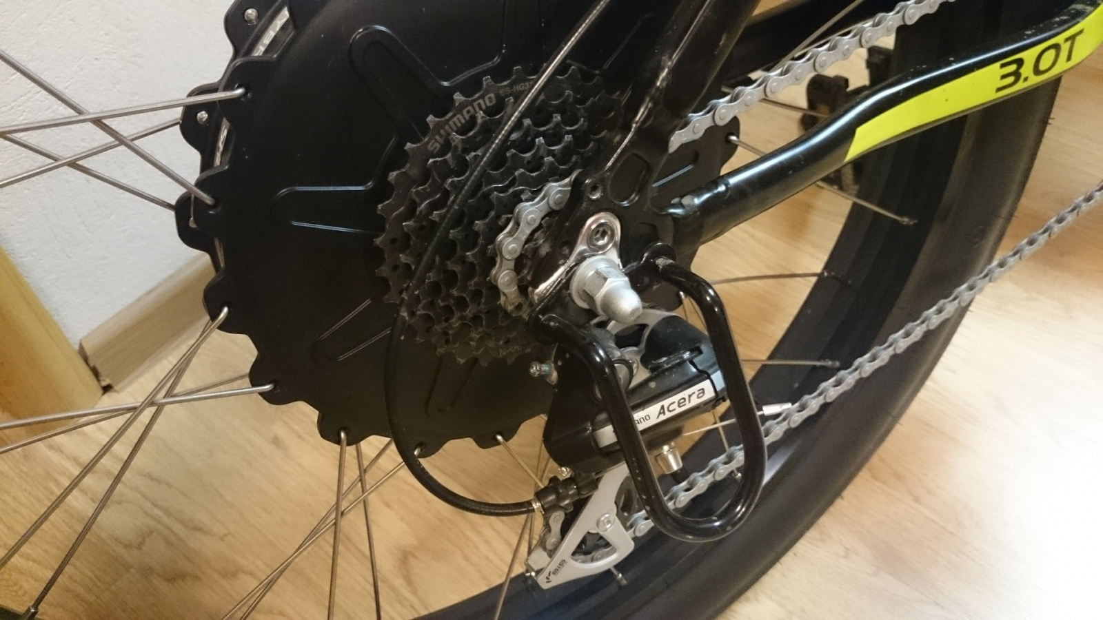 Обзор велогибрида Eltreco Inoy 3.0 - 7