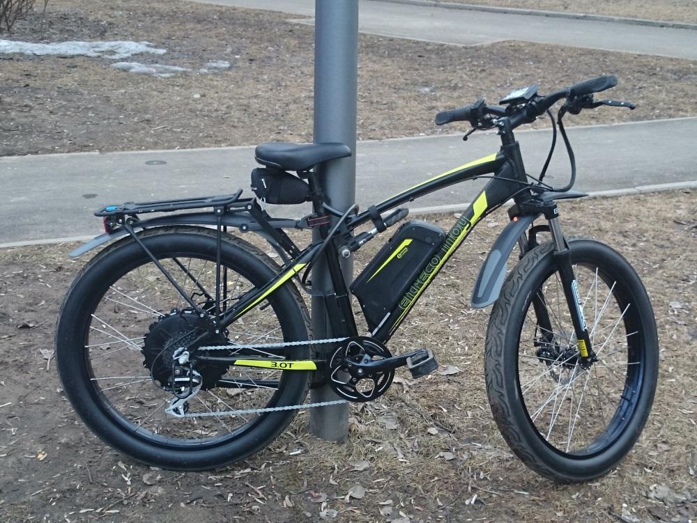 Обзор велогибрида Eltreco Inoy 3.0 - 1