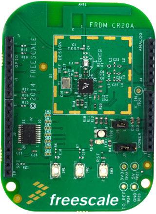 Радиочастотный приемопередатчик Freescale MCR20AVHM обладает качествами, востребованными в устройствах интернета вещей