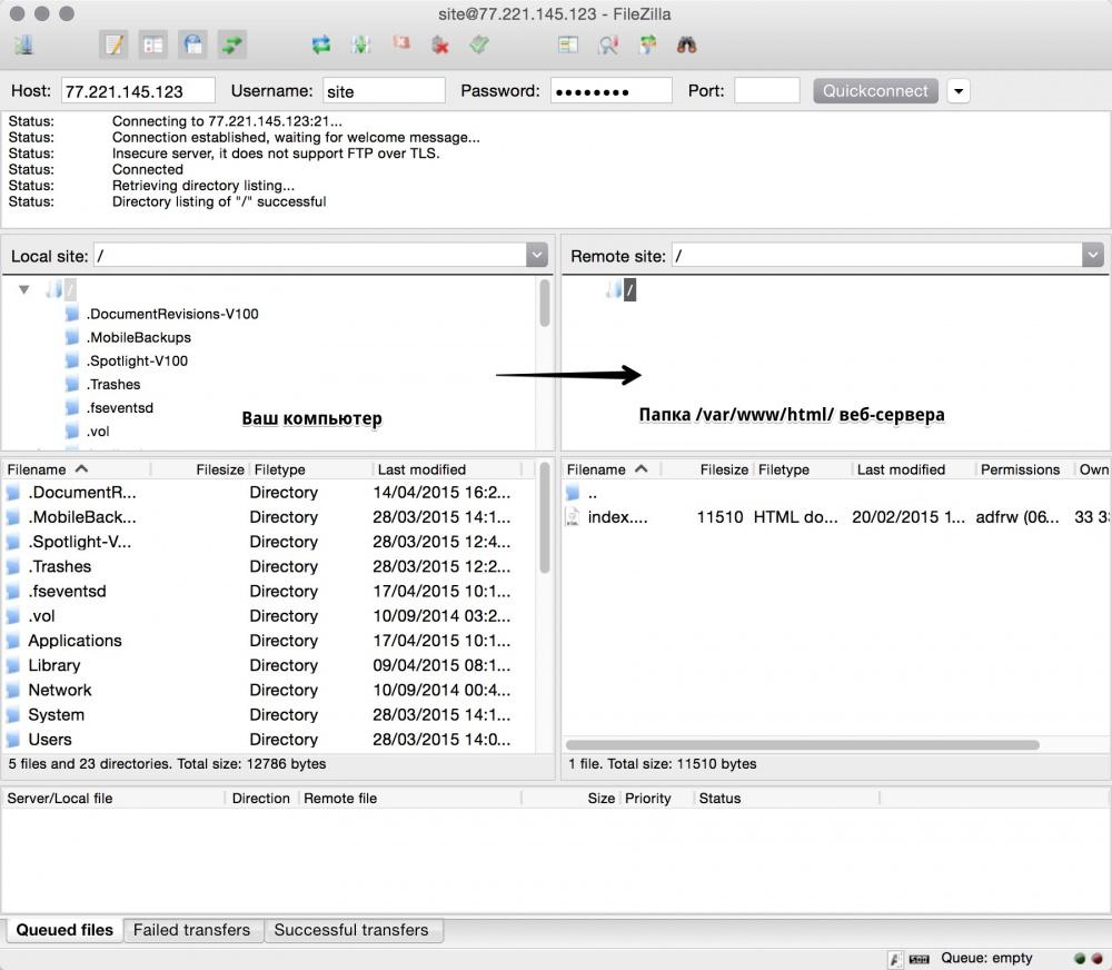 Запускаем сайт на облачном VPS от Infobox за 10 минут - 7