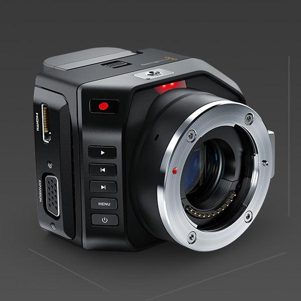 Продажи Blackmagic Micro Cinema Camera начнутся в июле по цене $995