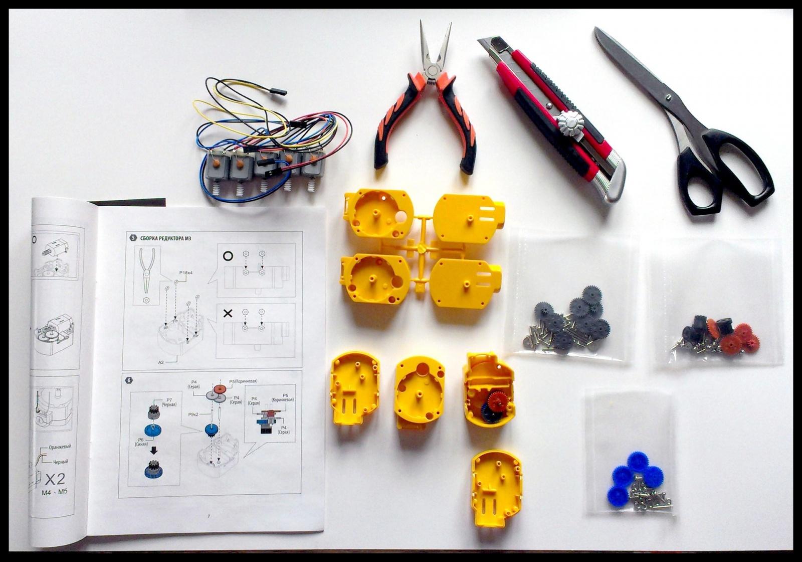 Как собрать робота своими руками за 6 часов и стать душой компании - 2