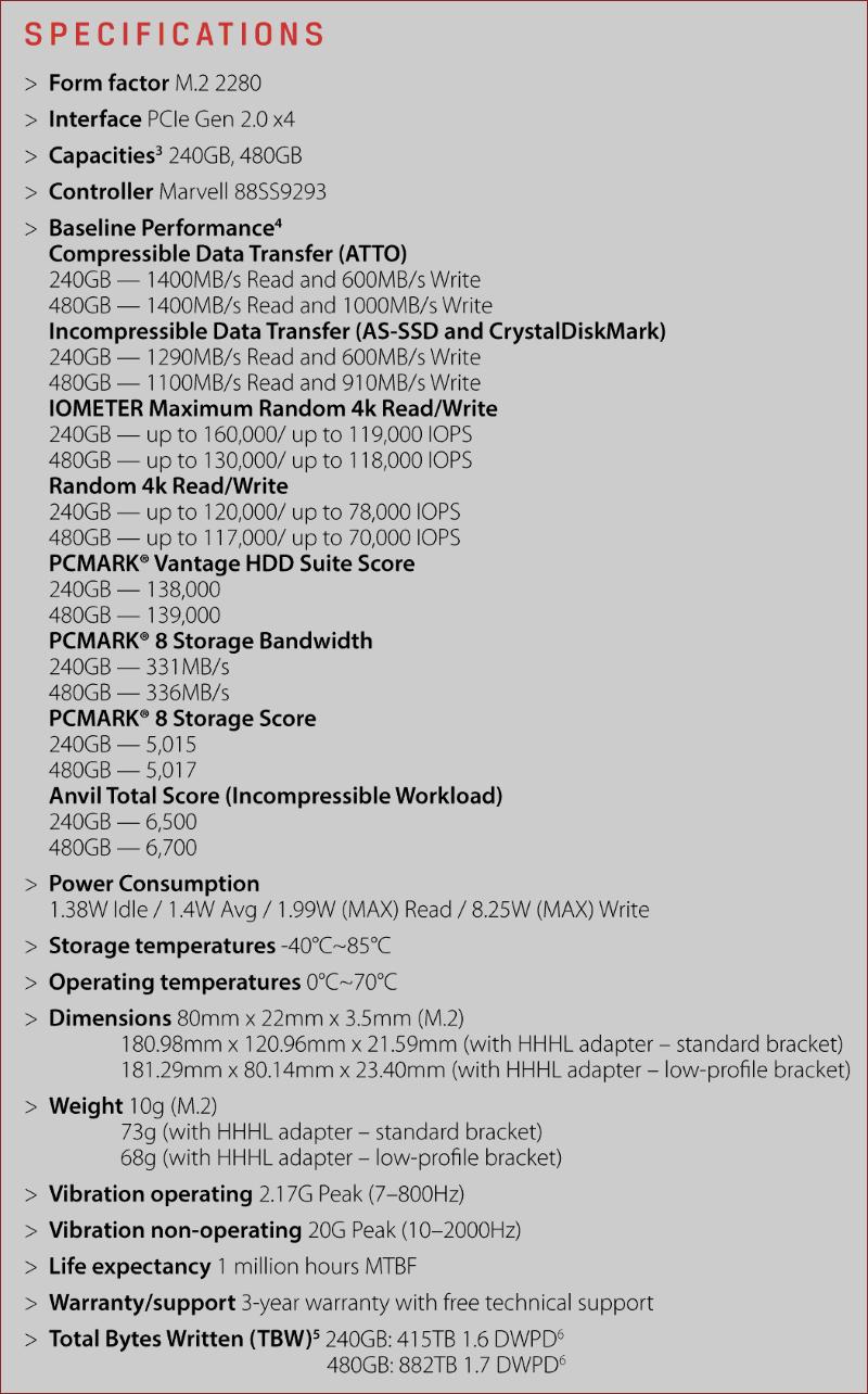 Обзор твердотельного накопителя HyperX Predator PCI-E - 3
