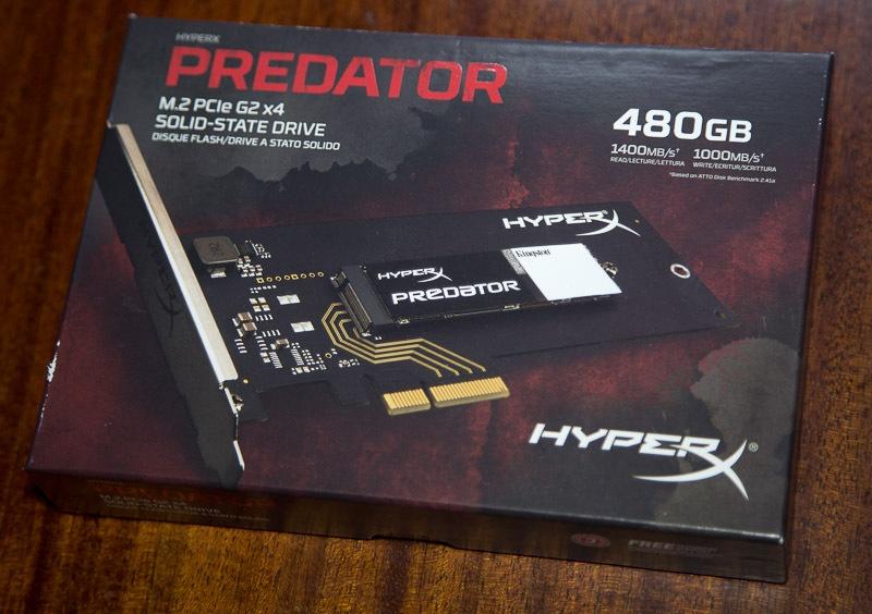 Обзор твердотельного накопителя HyperX Predator PCI-E - 1