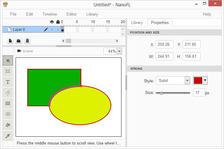 Свой Flash на HTML5: объединение векторных изображений (ч.2) - 1