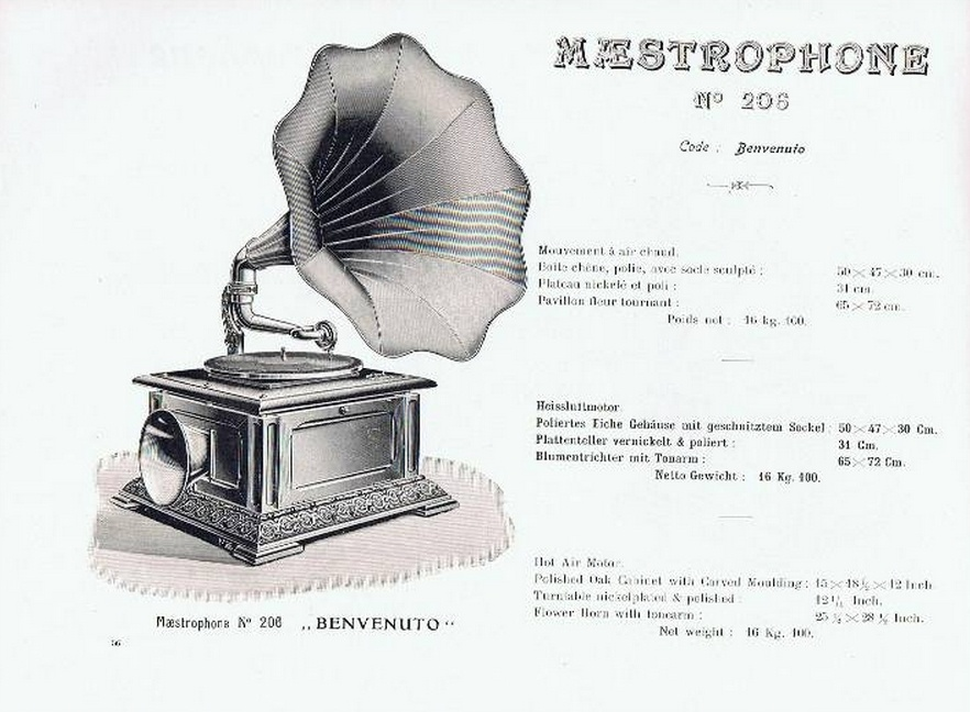 Maestrophone — граммофон с тепловым двигателем - 2