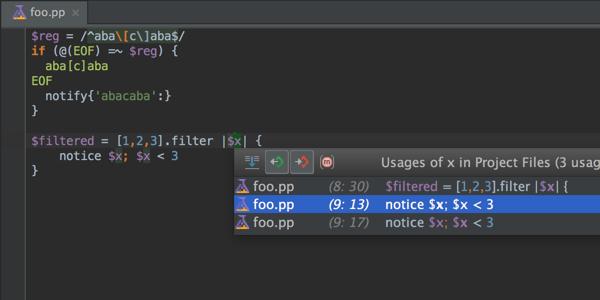 RubyMine 7.1: улучшенная работа с Puppet, JavaScript, CoffeeScript и не только - 2