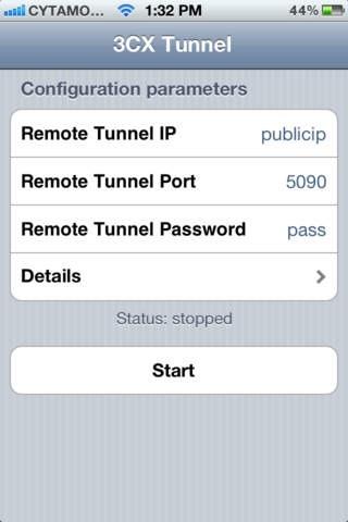 Подключение добавочного номера в 3CX. Автоматическая настройка 3CXPhone for iOS.