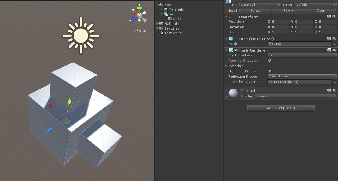 Экспорт из Blender в Unity или почему старые секреты уже не актуальны - 9