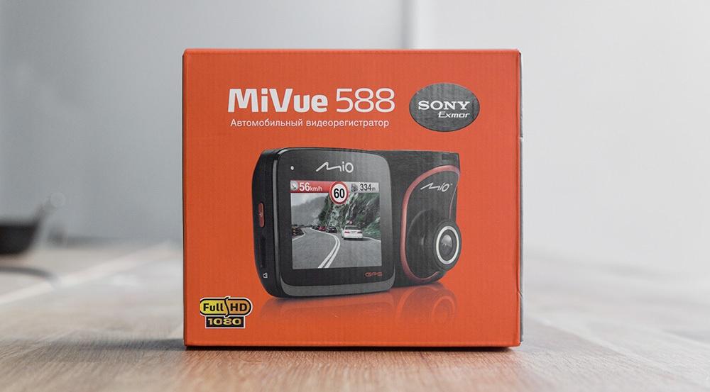 Обзор флагманского видеорегистратора MIO MiVue 588 - 2