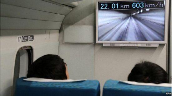 Японский маглев установил очередной скоростной рекорд в 603 км ч - 1