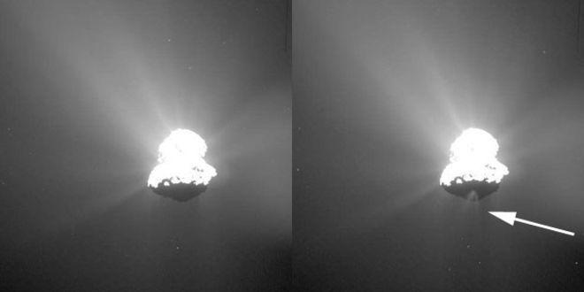 Rosetta зафиксировала выброс вещества Кометы Чурюмова-Герасименко - 2
