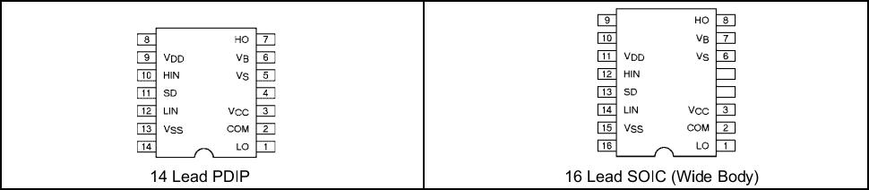 Использование драйвера ключей нижнего и верхнего уровней IR2110 — объяснение и примеры схем - 3