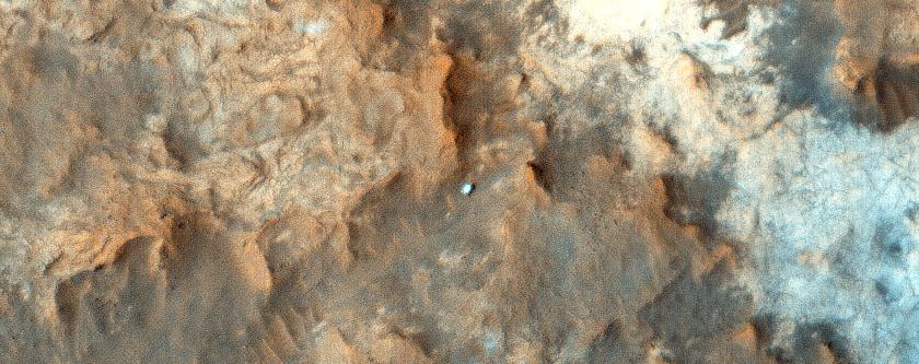 Орбитальный зонд MRO сфотографировал Curiosity с орбиты - 2