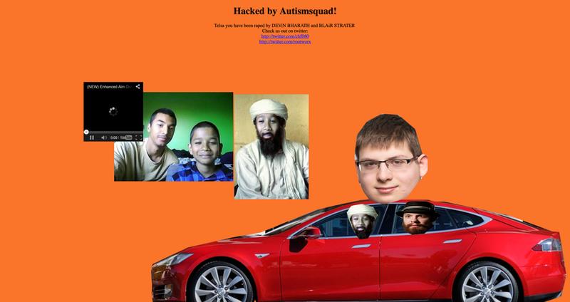 Взломан сайт Tesla + twitter-аккаунты Tesla Motors и Илона Маска - 2