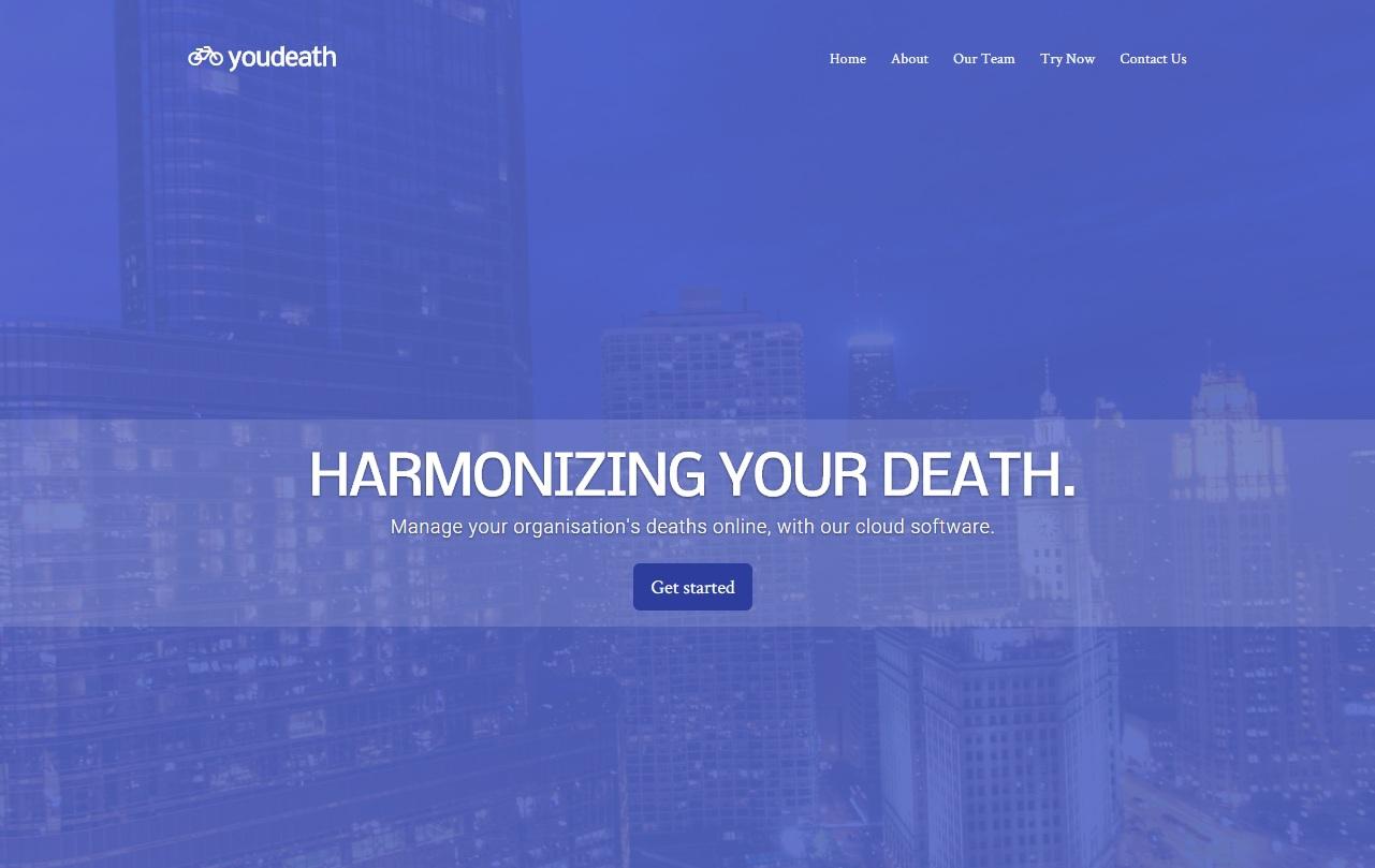 Дожили. Сайт, генерирующий сайты стартапов - 1