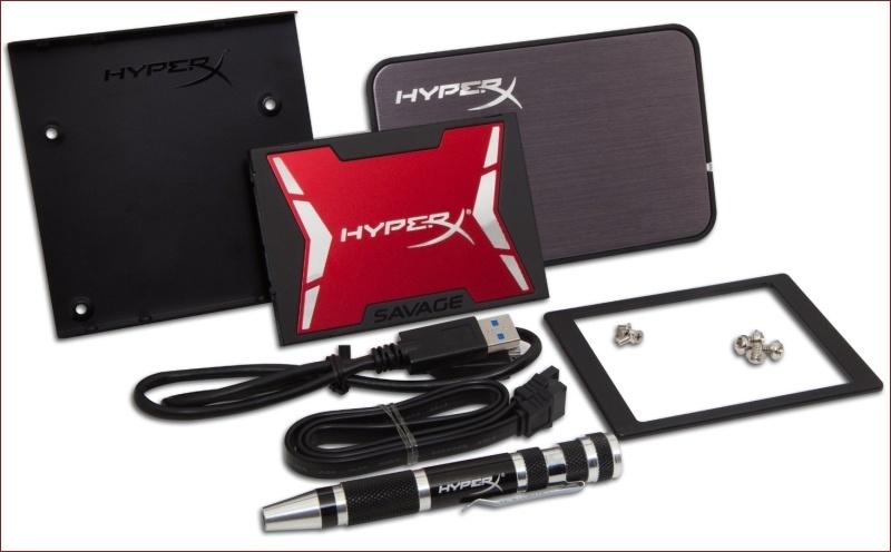 Компания Kingston анонсировала новый SSD — HyperX Savage - 2