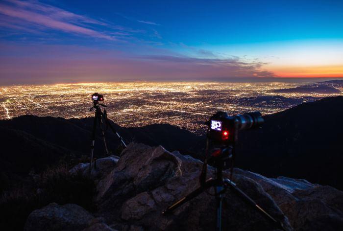 Как будет выглядеть ночное небо над городом, если не будет освещения? - 2