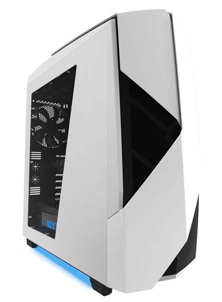 Компьютерный корпус NZXT Noctis 450 комплектуется концентратором ШИМ для подключения восьми вентиляторов