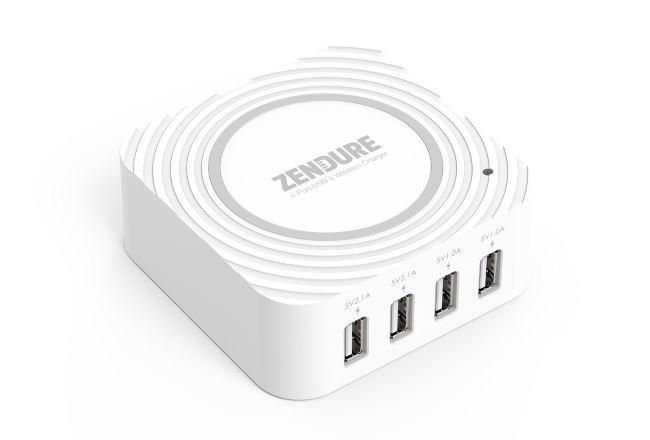 Zendure: зарядное устройство для 4-х гаджетов + 1 место для беспроводной зарядки - 2