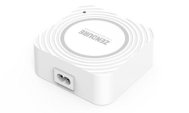Zendure: зарядное устройство для 4-х гаджетов + 1 место для беспроводной зарядки - 4
