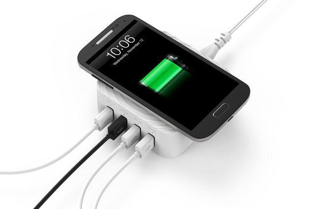 Zendure: зарядное устройство для 4-х гаджетов + 1 место для беспроводной зарядки - 5