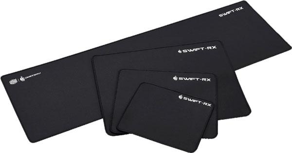 Серию Cooler Master CM Storm Swift-RX пополнил коврик размерами 900 x 360 мм