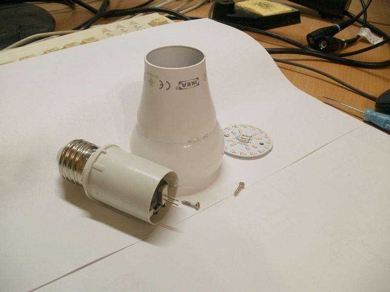 Сага о светодиодных лампах. Лампы из IKEA - 4