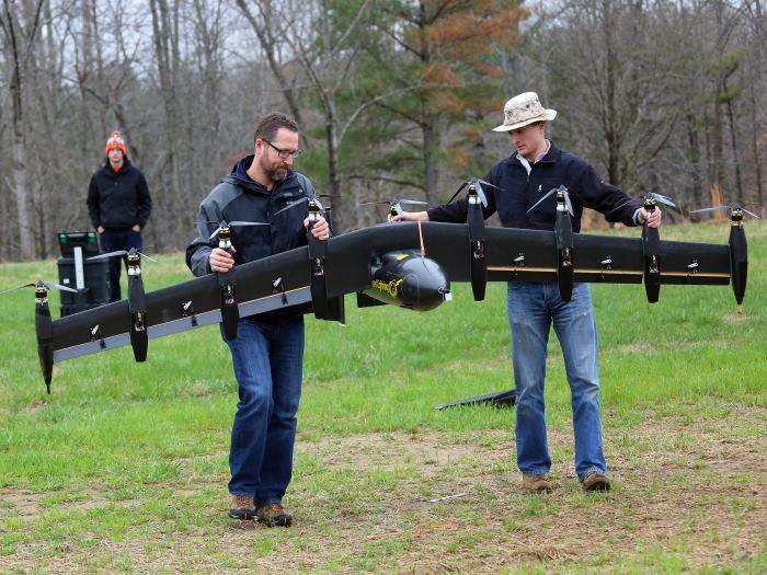 Беспилотник NASA с 10 электродвигателями: эра летающих дронов-трансформеров началась - 2