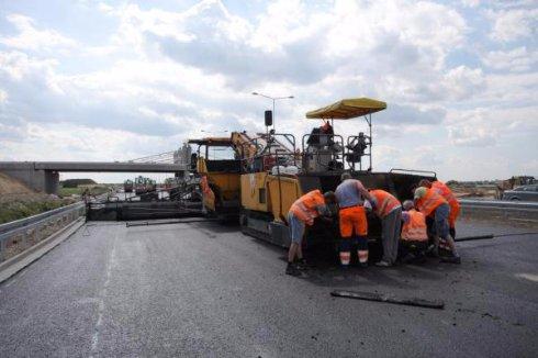 В Польше производят дороги из резины
