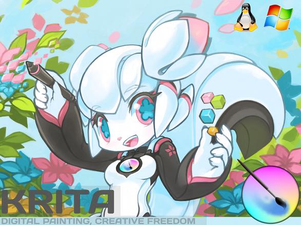 Krita: свободный графический редактор с поддержкой анимации на Kickstarter - 1