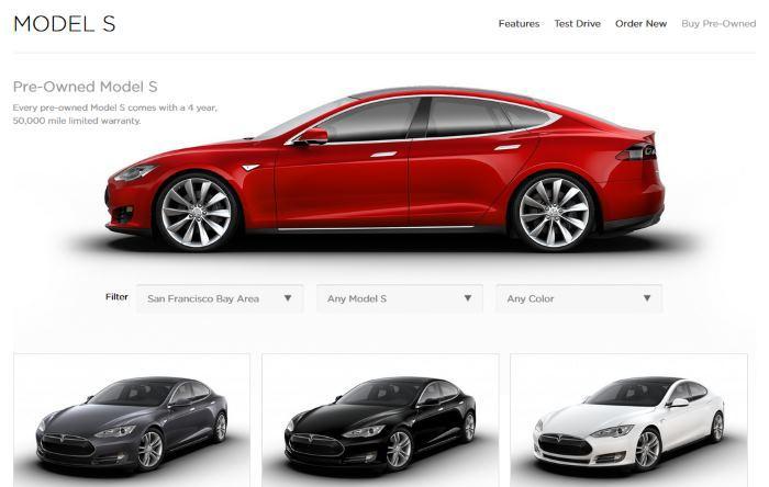 Tesla запустила продажу подержанных электрокаров через Интернет - 1