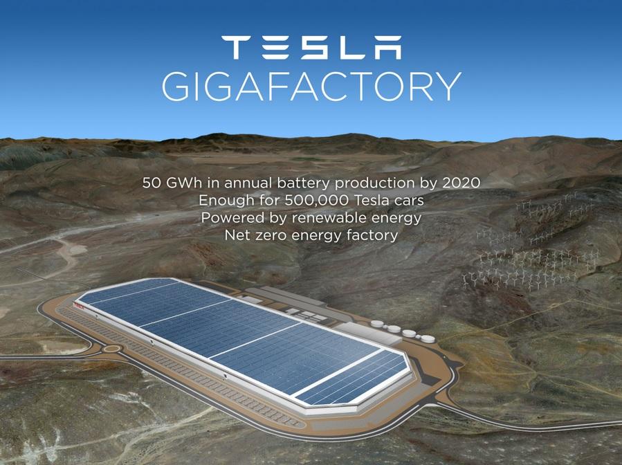 «Гигафабрик аккумуляторов» Tesla будет несколько? - 1