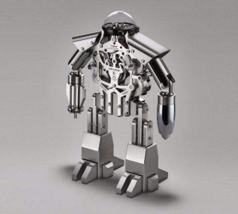 Представлены роботизированные часы из будущего