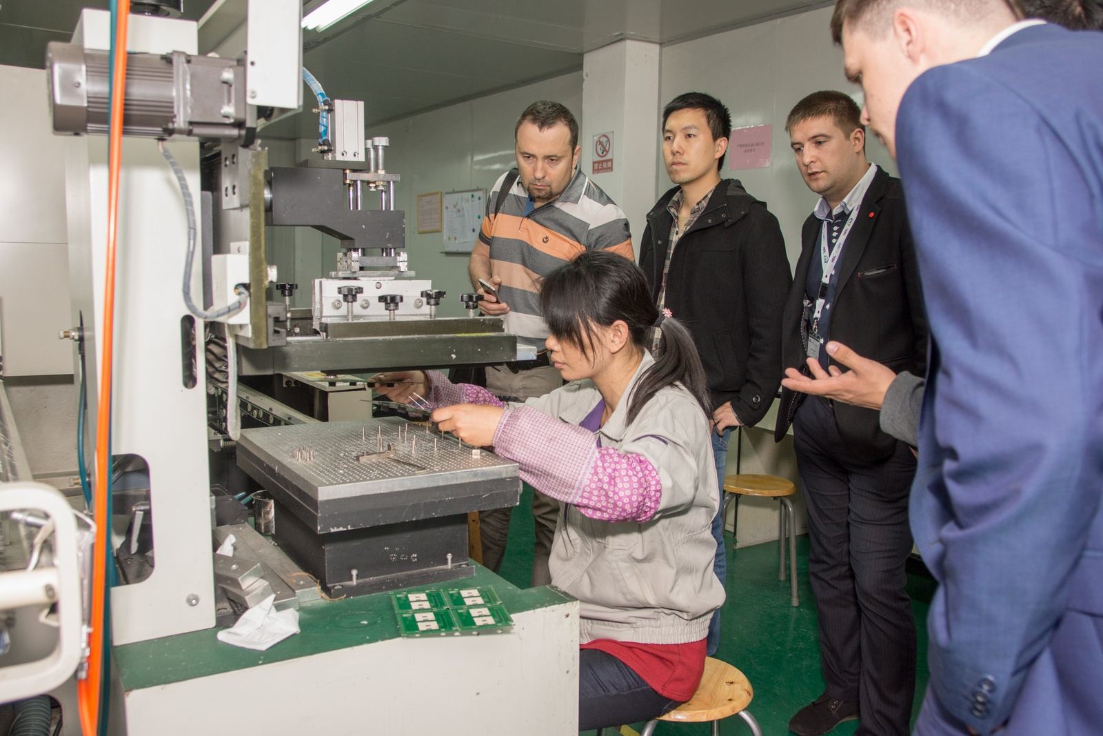 Китай. Завод устройств для «Умного дома». Учимся и учим - 31