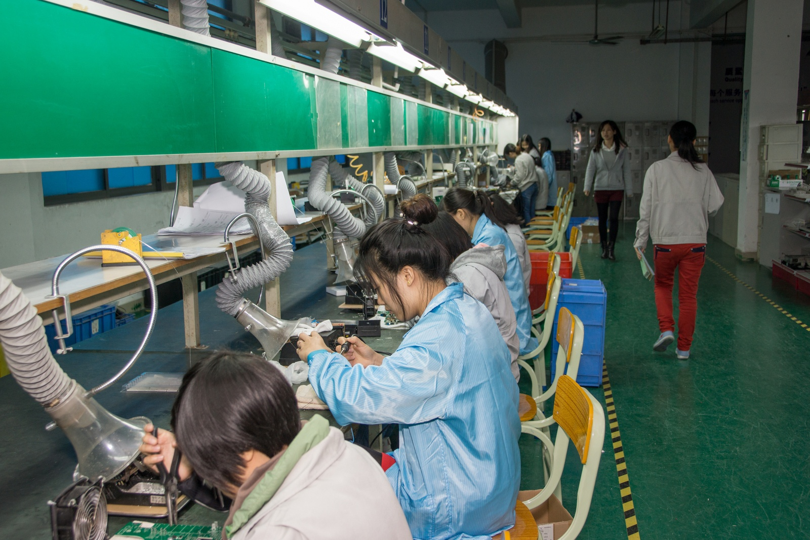 Китай. Завод устройств для «Умного дома». Учимся и учим - 32