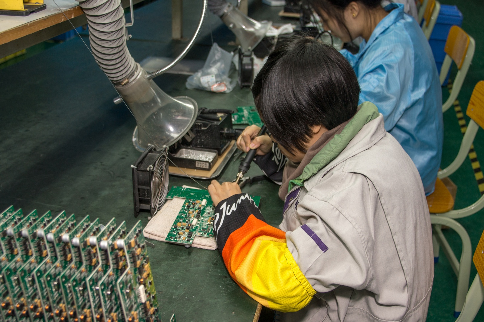 Китай. Завод устройств для «Умного дома». Учимся и учим - 33