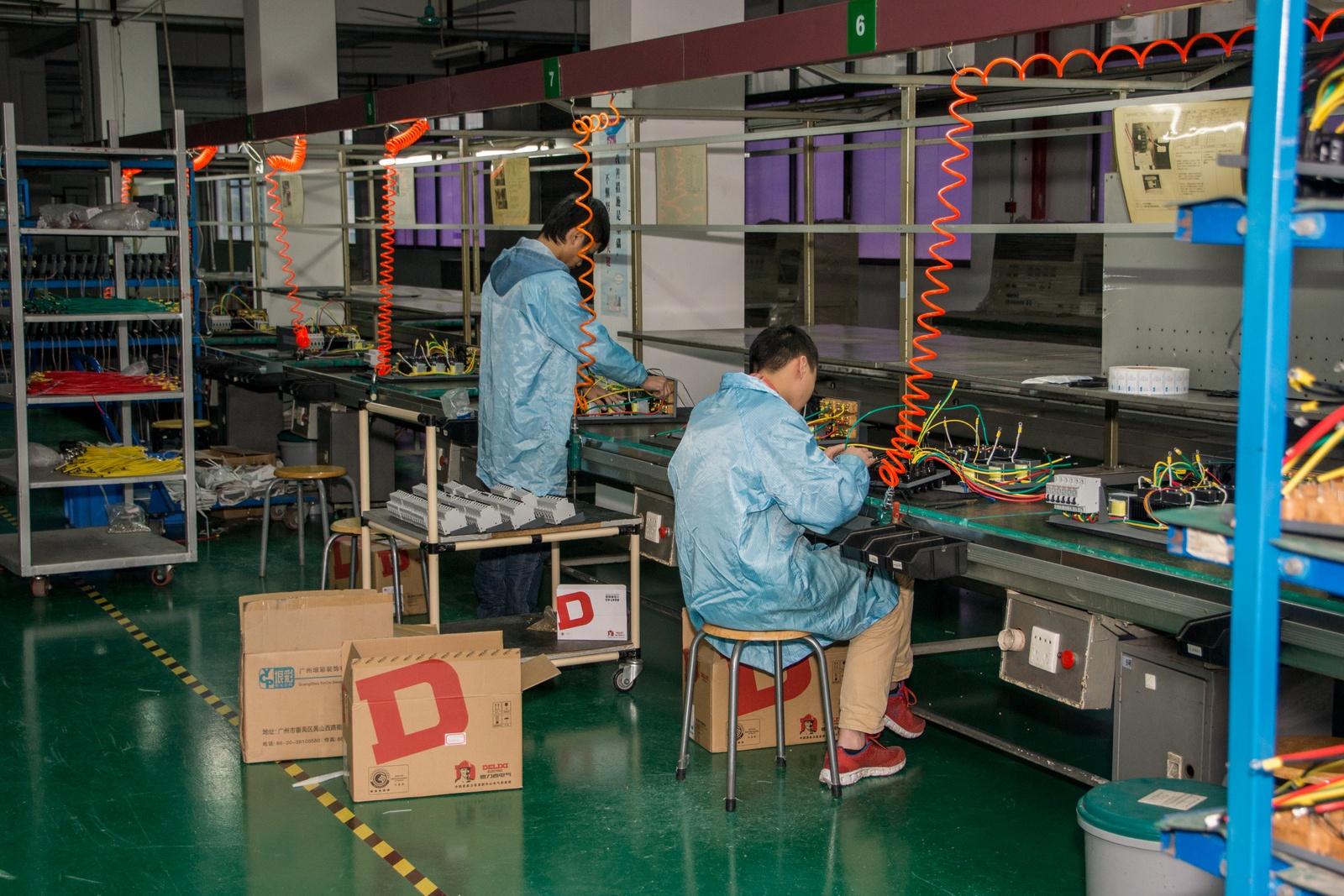 Китай. Завод устройств для «Умного дома». Учимся и учим - 34