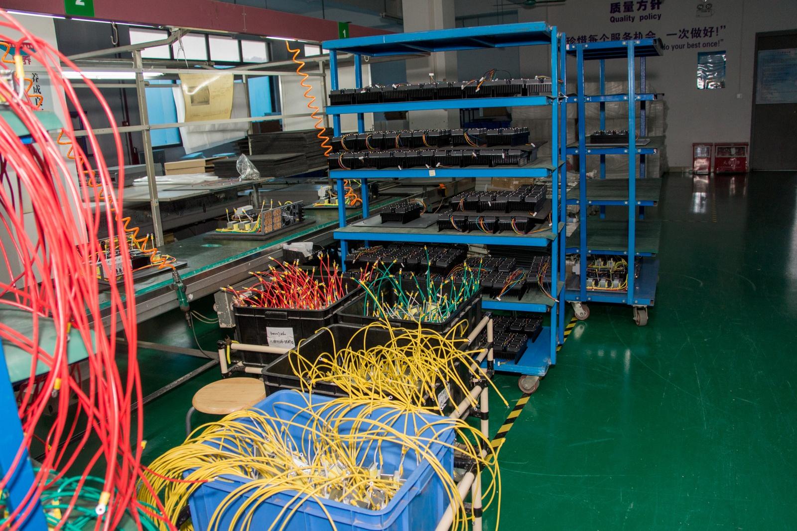 Китай. Завод устройств для «Умного дома». Учимся и учим - 35