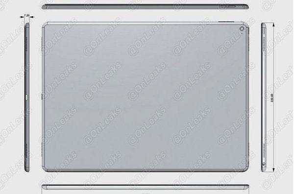 Планшету Apple iPad Pro с экраном размером 12,9 дюйма приписывают поддержку Force Touch и NFC, наличие разъема USB Type-C