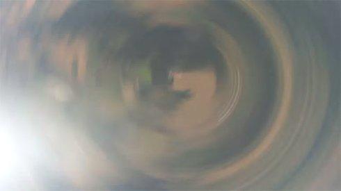 Упавшая с 3 километровой высоты камера GoPro 4 года пролежала в поле