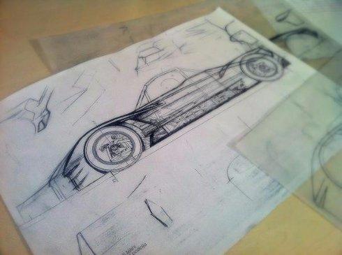 В Латвии представили гоночный электромобиль